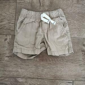 3/$15 Carter's boys shorts 12 M